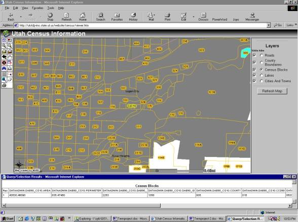 Term Project --- GIS in Water Resources