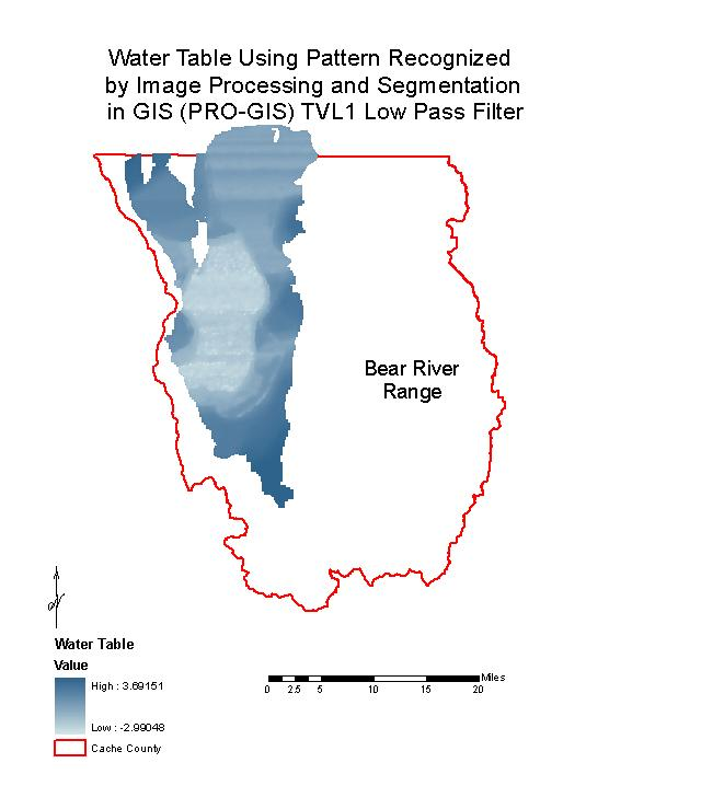 Bear River Range Groundwater Recharge And Discharge Estimate